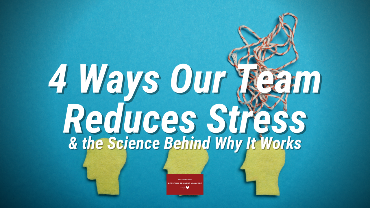 blog banner - ways to reduce stress.